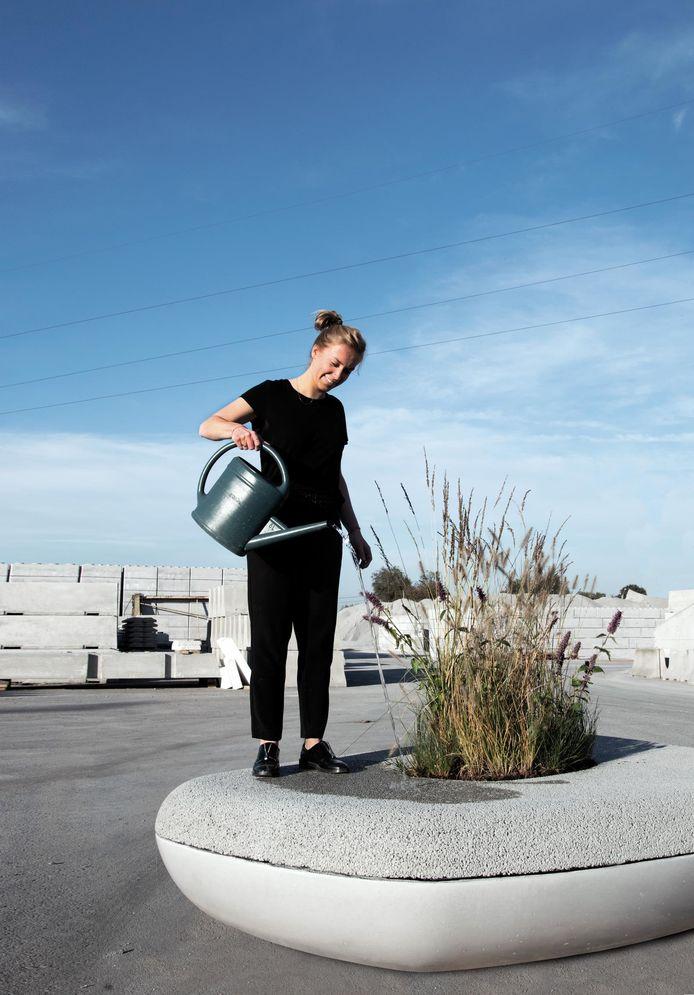 Barbara Standaert bewatert The Waterbench.