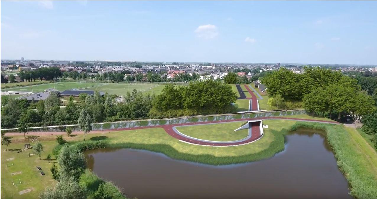 De fiets- en voetgangerstunnel slaat een brug tussen de Brenninkmeijerlaan en de Willem Tomassenlaan, waar hij zijn naam aan ontleent
