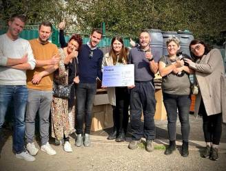 Comité overstromingsgebieden overhandigt ruim 4.000 euro aan getroffen school en asiel in Pepinster