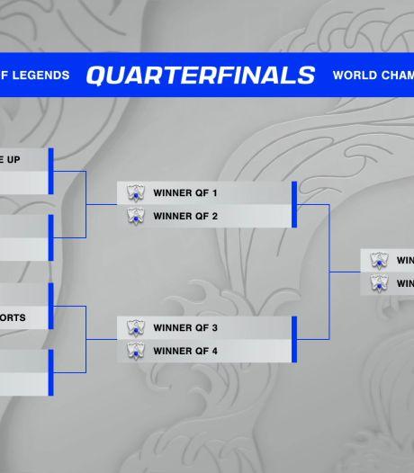 Kwartfinalisten WK League of Legends bekend