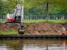 De Eem krijgt nieuwe damwanden tussen Amersfoort en Baarn