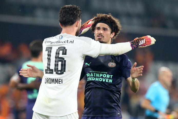 André Ramalho en Joël Drommel zijn content met de 2-1 zege bji Galatasaray.