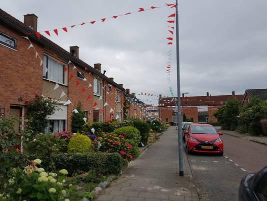 Ondanks de afwezigheid van Oranje, zijn de Van Mansfeldstraat en de Darincstraat in Zevenbergen toch in de WK-stemming.