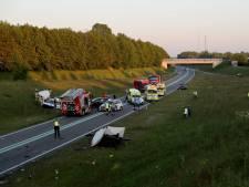 Veroorzaker ongeval met vier doden op N34 bij Borger reed met hoge snelheid tegen voorligger