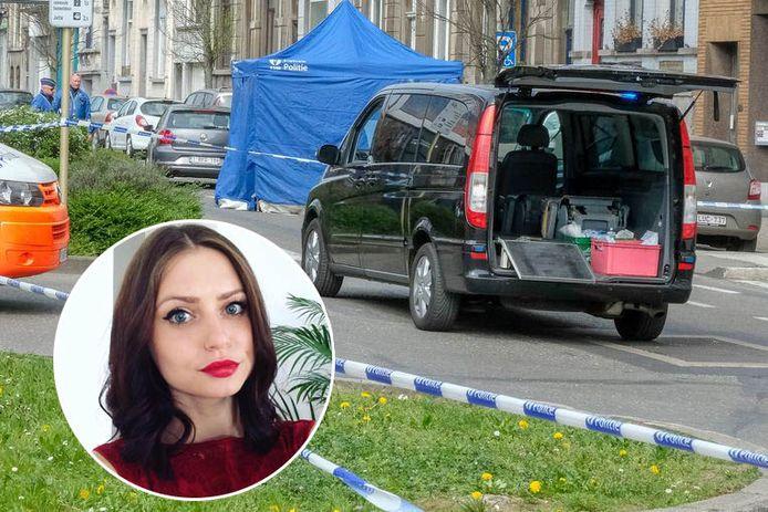 Dariana Palcau (30) kwam om bij de aanrijding in Koekelberg.