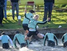 Roeiteams Cambridge pakken 'dubbel' in Boat Race, maar niet op de Thames