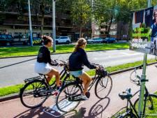 'Hobbelstrook' moet bellende fietser waarschuwen