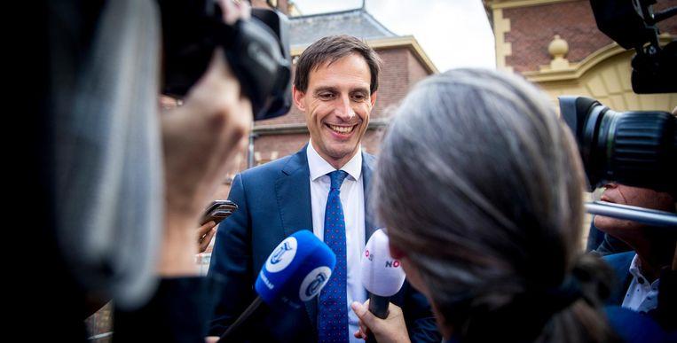 Voor minister van Financiën Wopke Hoekstra wordt het zijn eerste Prinsjesdag. Beeld anp