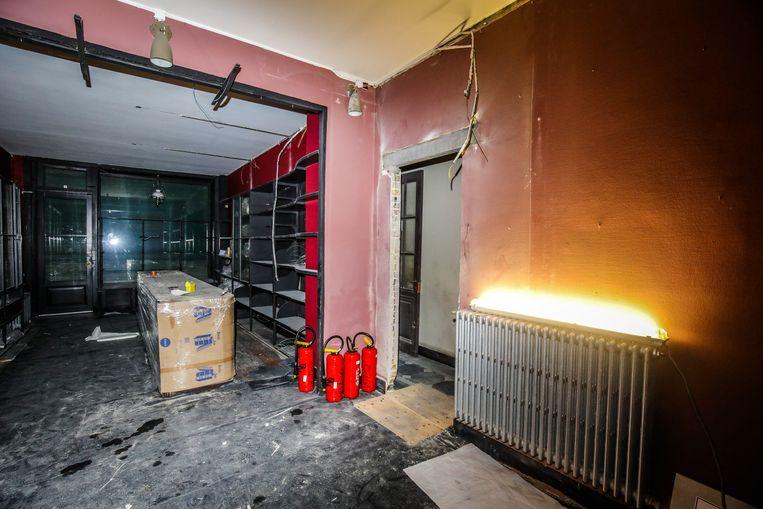 Oostende Ensormuseum in opbouw: het oude gedeelte van het Ensormuseum