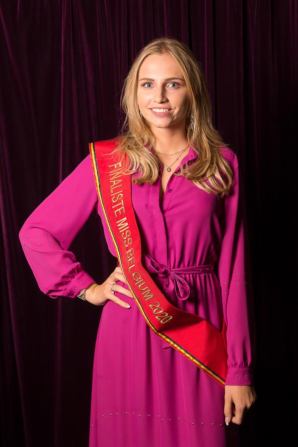 Willemijn Pieters, finaliste Miss Belgium 2020.