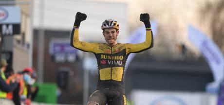 Nouveau numéro de Wout Van Aert, champion de Belgique pour la quatrième fois