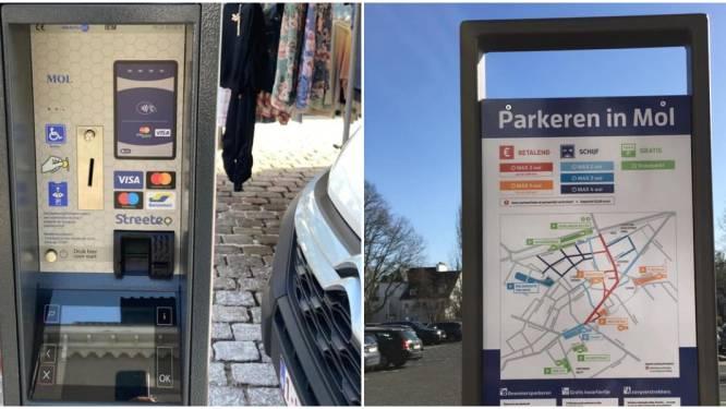 Nieuwe parkeerautomaten zijn geplaatst, maar nog niet actief