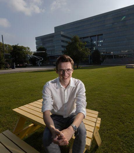 Op het VWO bleef hij nog zitten, nu voltooit TU/e-student Dirk drie masters in één keer en met klinkende cijfers