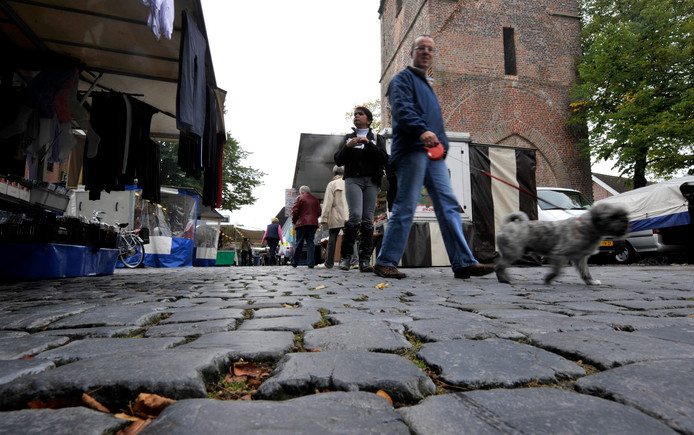 De Losserse markt rond de Martinustoren