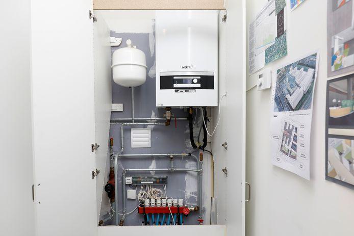 Warmtepomp (foto ter illustratie)