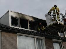 Uitslaande brand op zolder in woning Best, waarschijnlijk ontstaan bij wasdroger