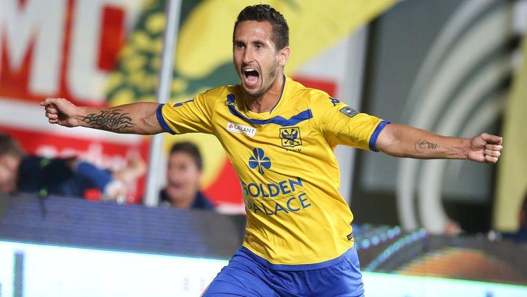 Ruben Fernandes scoorde op de openingsspeeldag nog tegen Club Brugge