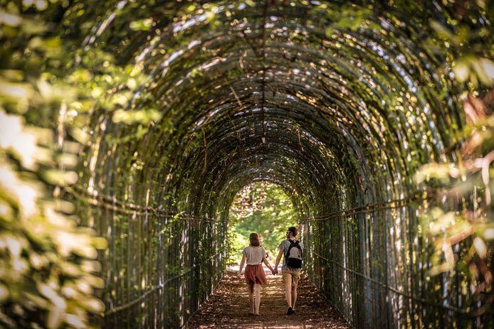 Nederland,  Drunen,  Het Land van Ooit wordt opgeknapt en krijgt een nieuwe bestemming ontertussen is het nog steeds een mooie plek om te zitten en te wandelen.
