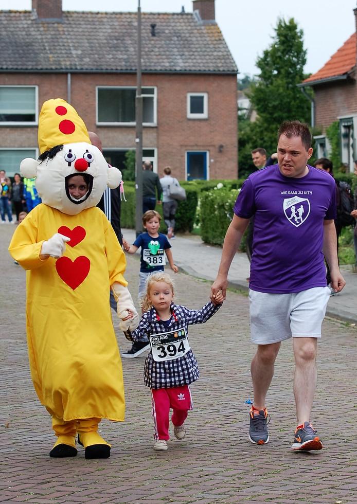 Er liep vanalles mee tijdens de Omloop van Empel.