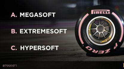 Volgend jaar een nieuwe band in de F1: megasoft, hypersoft of extreme soft?