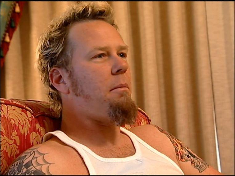James Hetfield in 'Metallica: Some Kind Of Monster'. Beeld rv