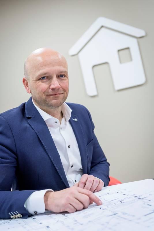 Voorzitter Peter Burbach van de NVM Twente.