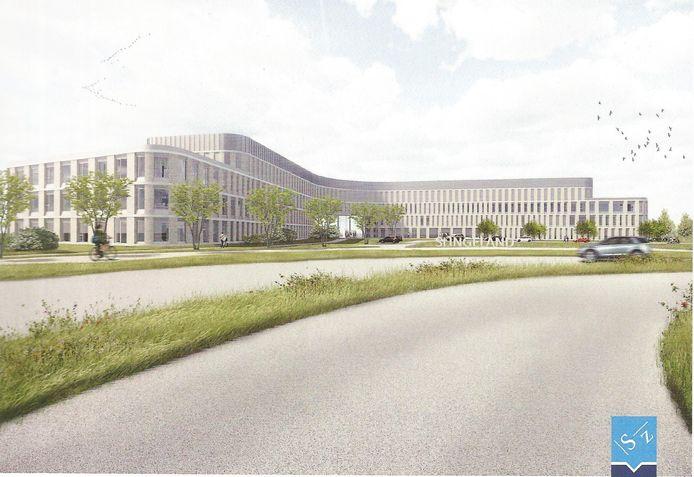 Nieuwbouwplannen Slingeland Ziekenhuis Doetinchem