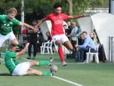 Scherpschutter Simonse volgt tegen FC Dauwendaele voorbeeld van Feyenoorder Linssen