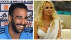 """""""Marseille-speler Adil Rami heeft relatie met Pamela Anderson"""" (al zegt hij niet of ze tegen KV Oostende in tribune zit)"""