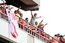 De fans zaten weer in de stadions en dat kon ook Marc Degryse bekoren.