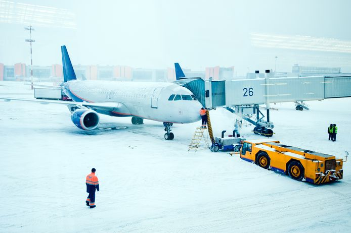 Archiefbeeld luchthaven van Moskou