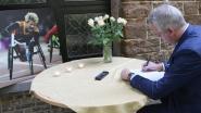 """Diest rouwt om 'Wielemie': """"We gaan het spandoek met haar afbeelding weer in straatbeeld plaatsen"""", zegt burgemeester De Graef"""