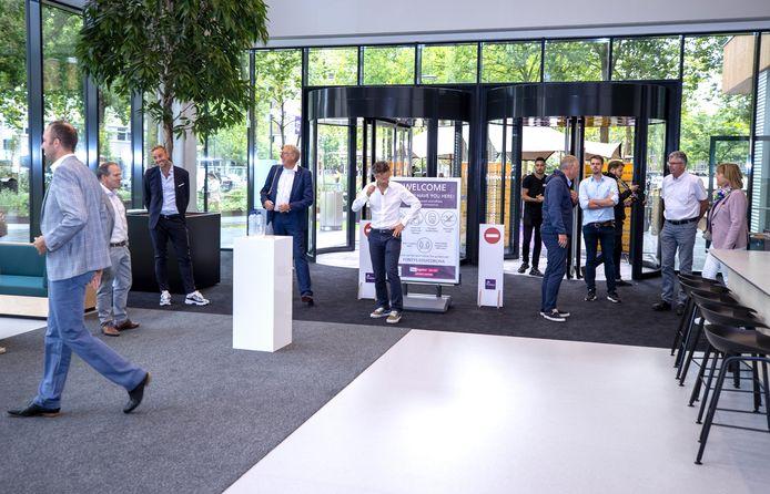Opening van gebouw R10 op de Fontys hogeschool in Eindhoven.