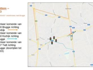 Vanaf maandag verkeershinder door heraanleg kruispunt Ringlaan en Brugsesteenweg