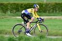 Primoz Roglic tijdens de Amstel Gold Race