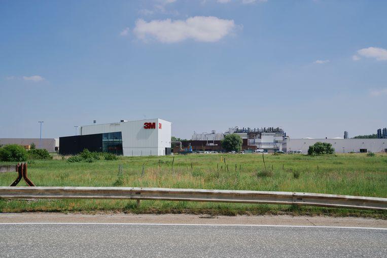Het 3M-gebouw in Zwijndrecht. Beeld Joris Casaer