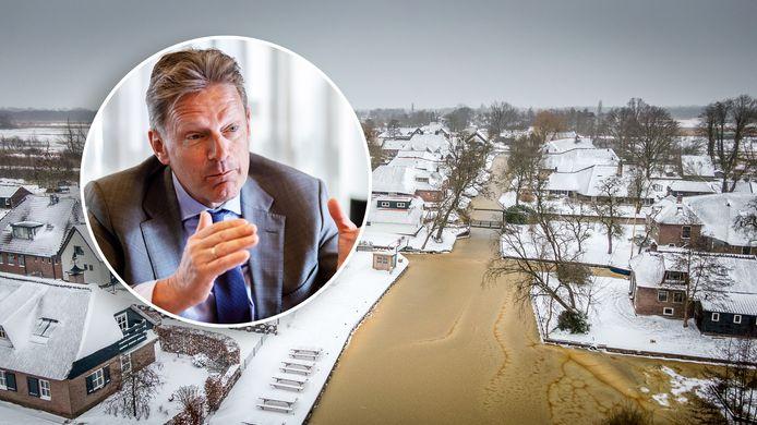 Rob Bats (VVD) is burgemeester van Steenwijkerland. Nu de schaatskoorts is aangebroken belooft het traditioneel druk te worden. Dat wil hij voorkomen.