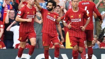 Salah helpt Liverpool met tweeklapper aan 3-1-zege tegen Arsenal, Origi blijft op de bank