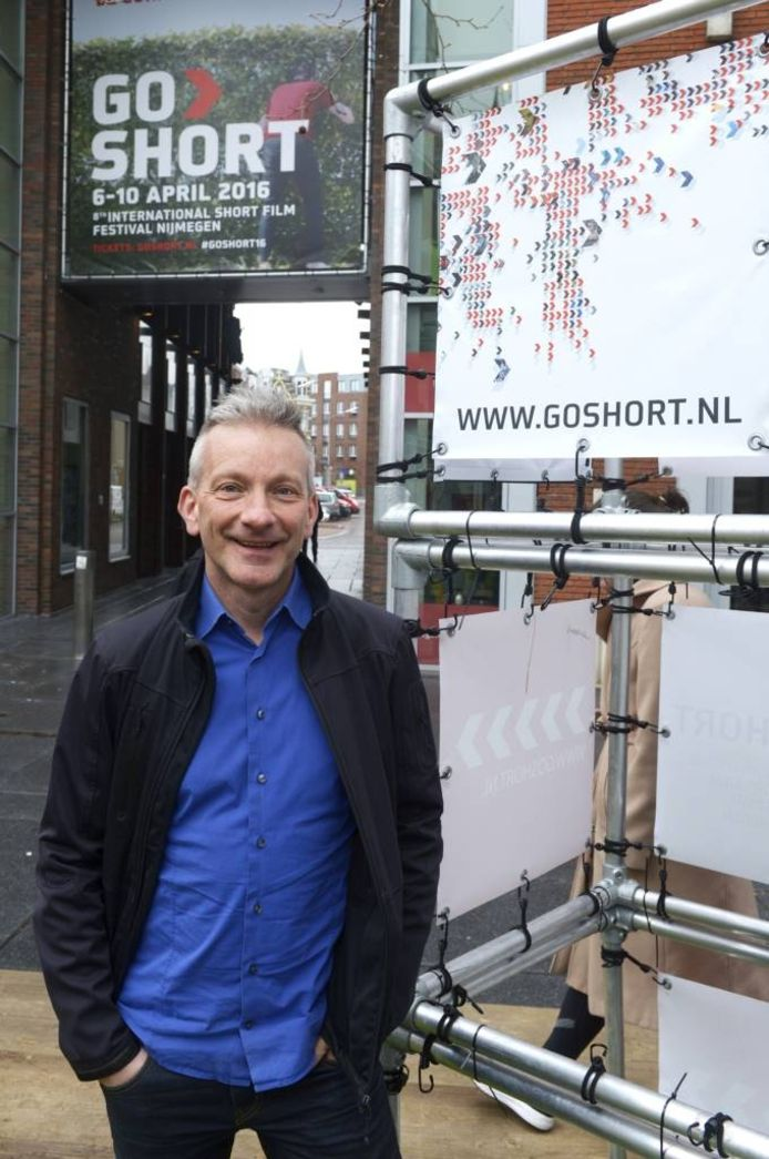 Presentator Geert Willems van De Walk Show. foto Do Visser