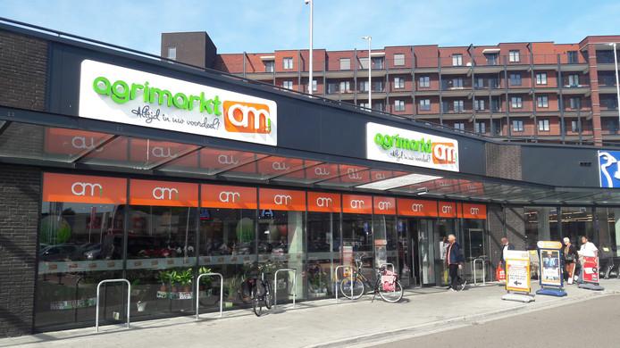 Tot eind oktober vorig jaar zag het winkelpand er zo uit, als vestiging van Agrimarkt.