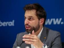 """Georges-Louis Bouchez: """"Nous resterons au gouvernement jusqu'en 2024"""""""