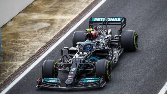 Bottas start op pole in GP van Turkije, Hamilton klokte snelste tijd maar vertrekt morgen als elfde