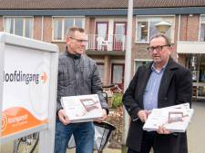 Ouderen in Dalfser zorghuizen houden videocontact met buitenwereld dankzij nieuwe tablets