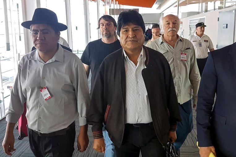 De Boliviaanse ex-president Evo Morales. Beeld AFP