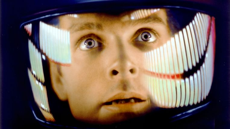 'Sorry Dave.' Beeld A Space Odyssey