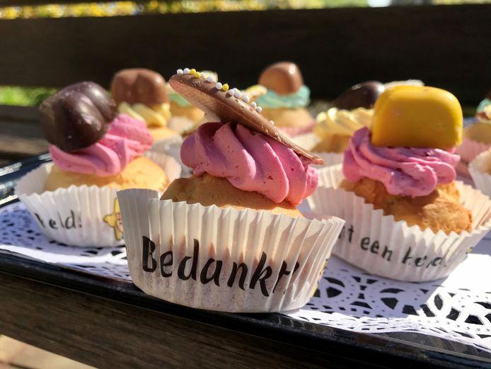 Deze cupcakes werden speciaal voor de medewerkers van de Archipel ontworpen en gebakken.