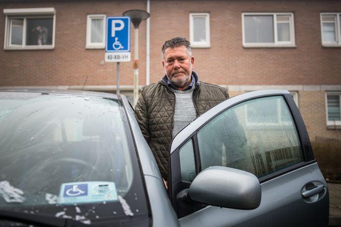 Martin Lankwarden heeft inmiddels weer een nieuwe parkeerkaart.