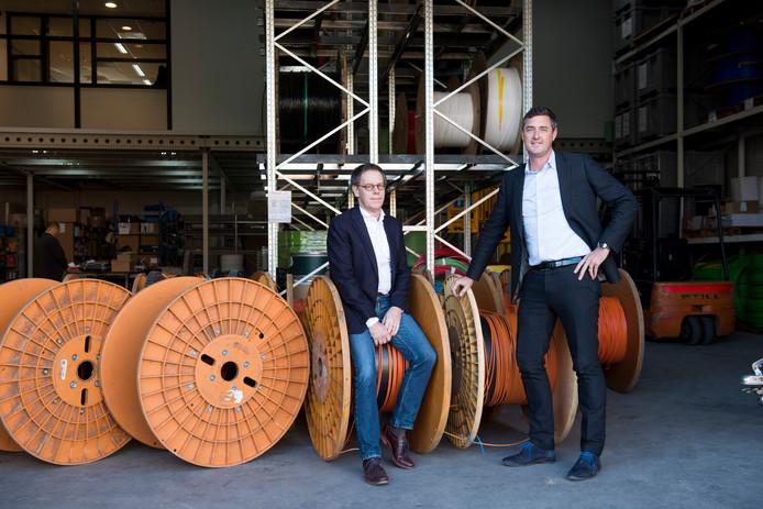 Ad Baartmans (links) en Bavo de Cock: Spitters heeft voor de komende jaren de orderboeken nog vol.