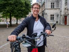 De fiets van Annelien kan niet alleen hard, maar ook snuffelen. 'Soms slaat-ie geel uit, dat is niet goed'