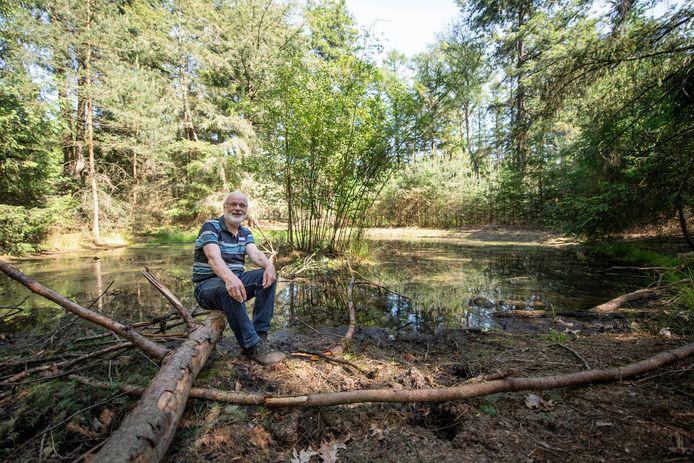 't Kolkje op de Holterberg is in ere hersteld. De grond is in eigendom van ter Horst en behoort niet tot nationaal park de Sallandse Heuvelrug. Anton van Beek weet er alles van.